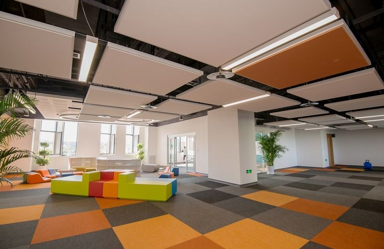 Office Suspended Ceiling Tiles False Ceilings Pure Office