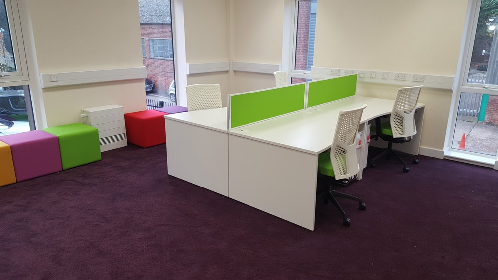 WCS Care Project - Desk Installation