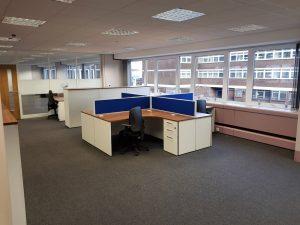 Rehability UK - Partion Board on Desks