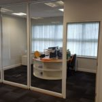Inspire Insurance Project - Glass Partitioned Wall