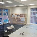 Inspire Insurance Project - Frameless Glass Partition