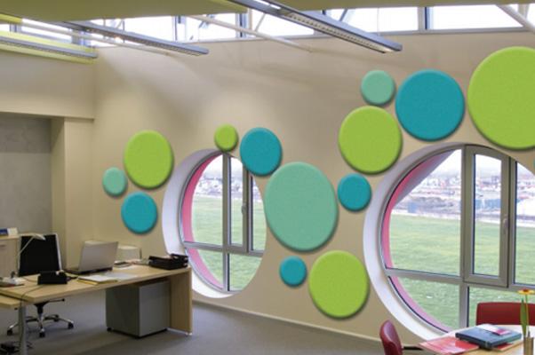 Acoustic Wall Panels - Circles