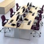 Ambus Desk - Purple Seating
