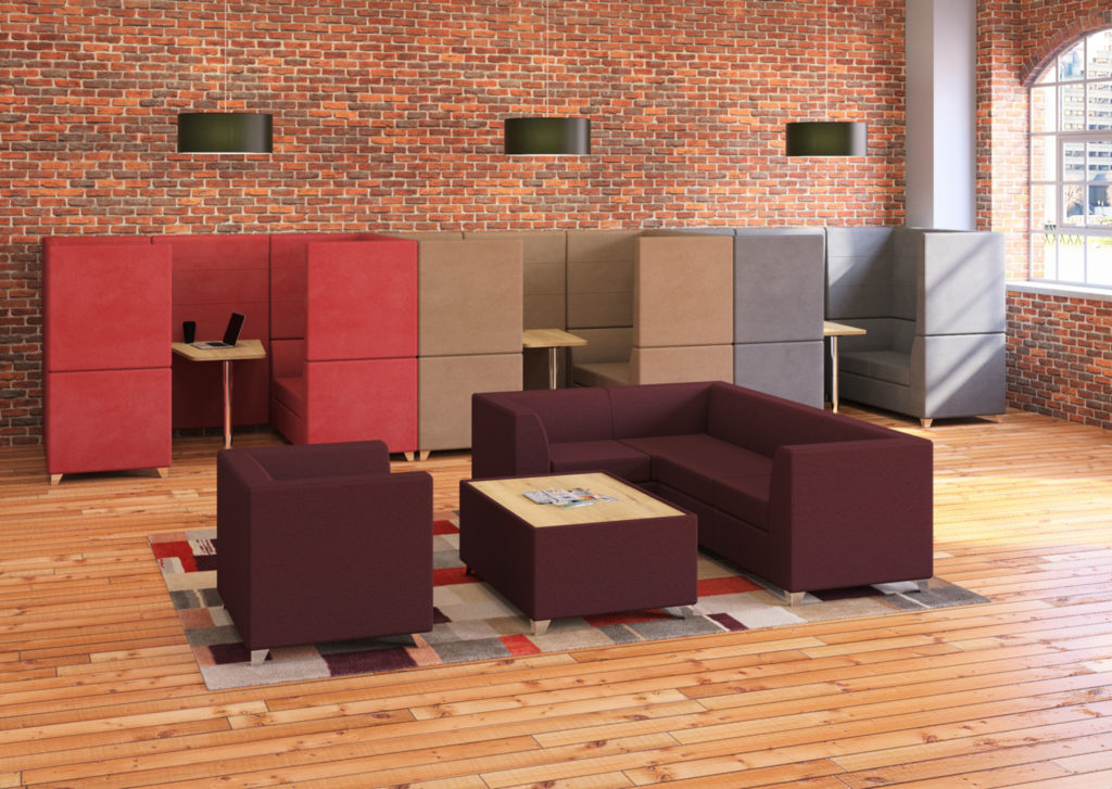 Sven Screen D Booths and Sofa