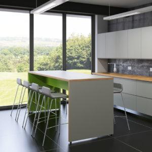 hitable in office kitchen