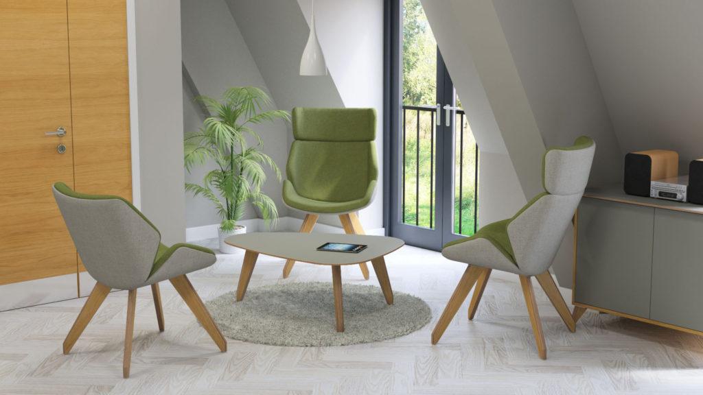 Sven Ligni lounge seating