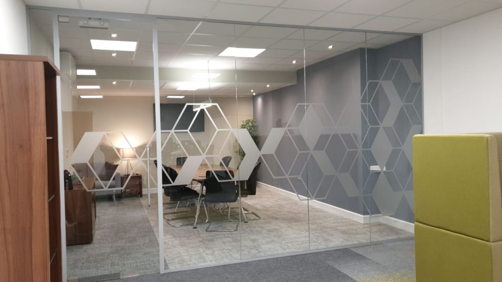 Frameless Glass Partition Wall
