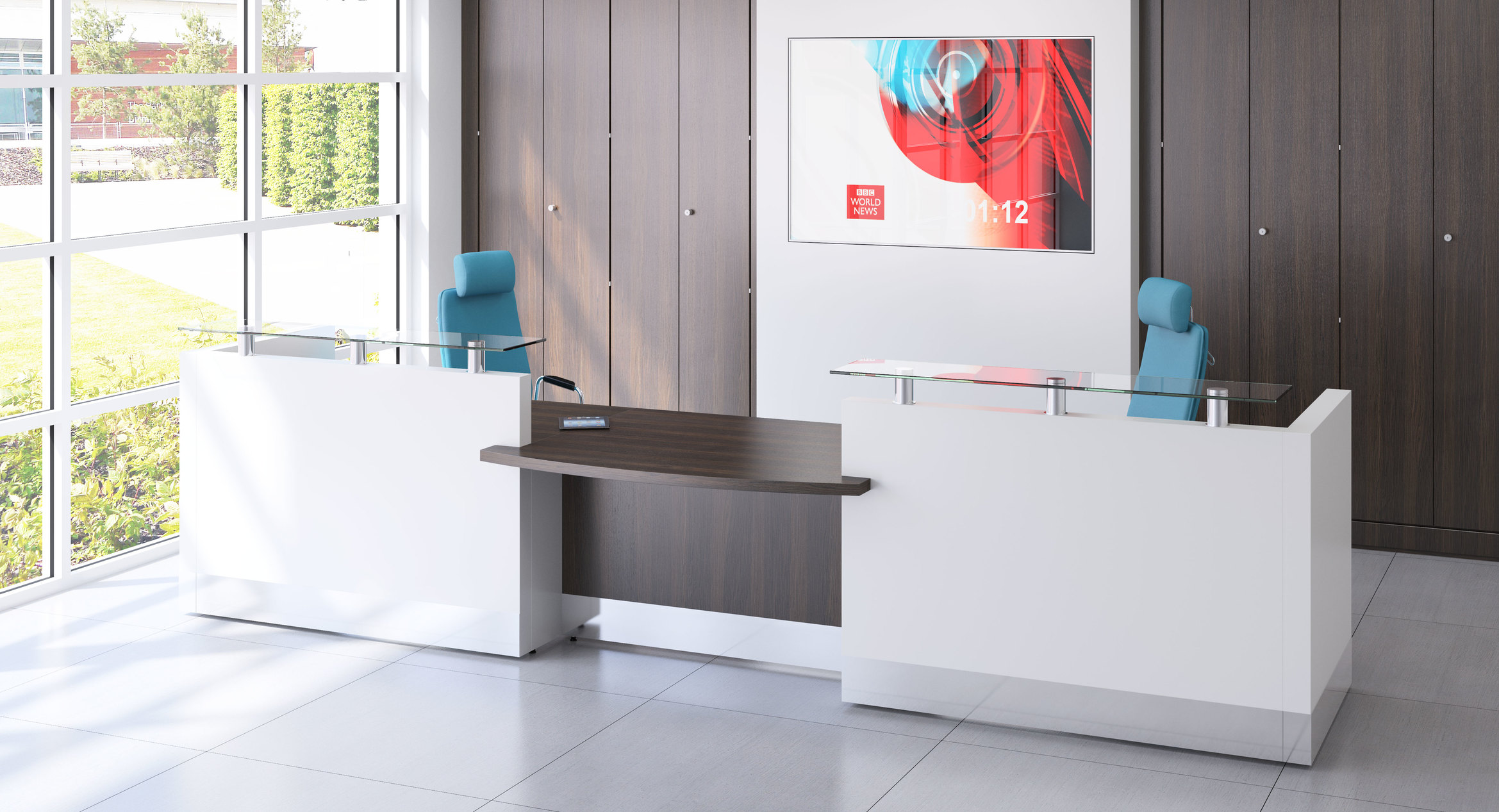 Fulcrum reception counter