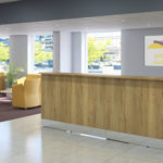 Streamline reception counter