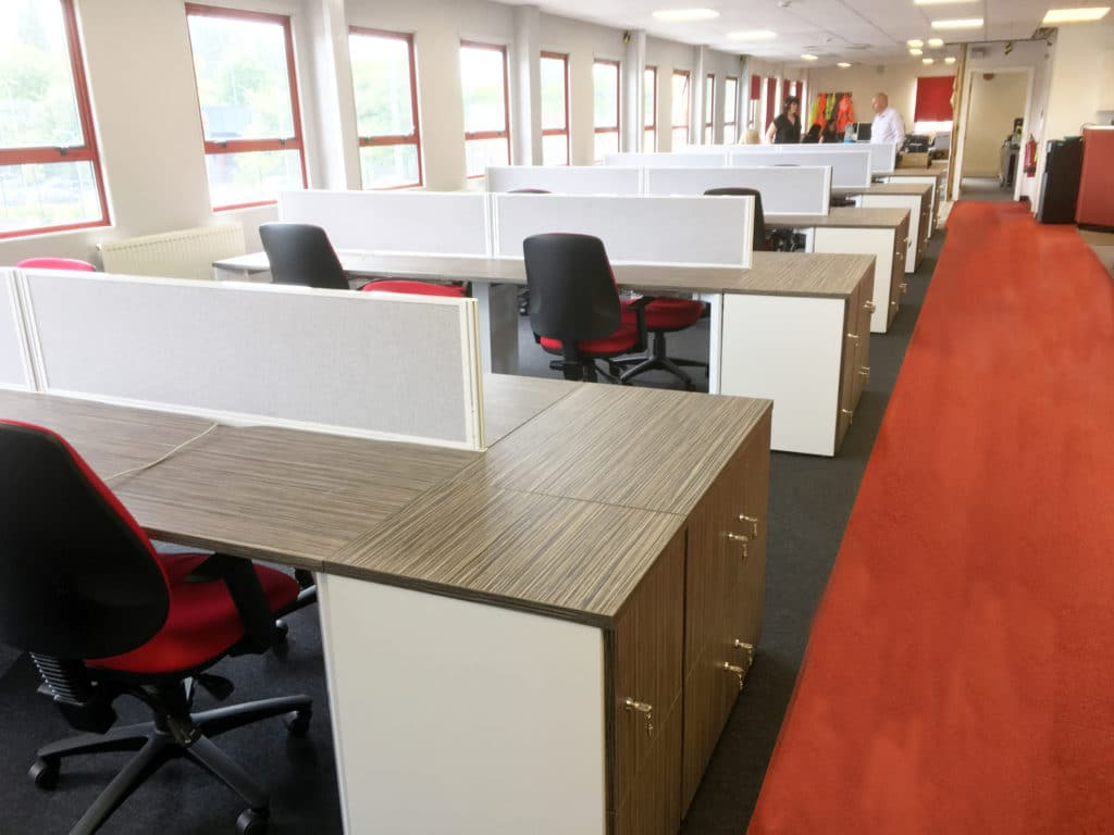 Full office fit-out and  toilet refurbishment