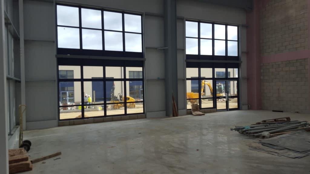 New windows installed
