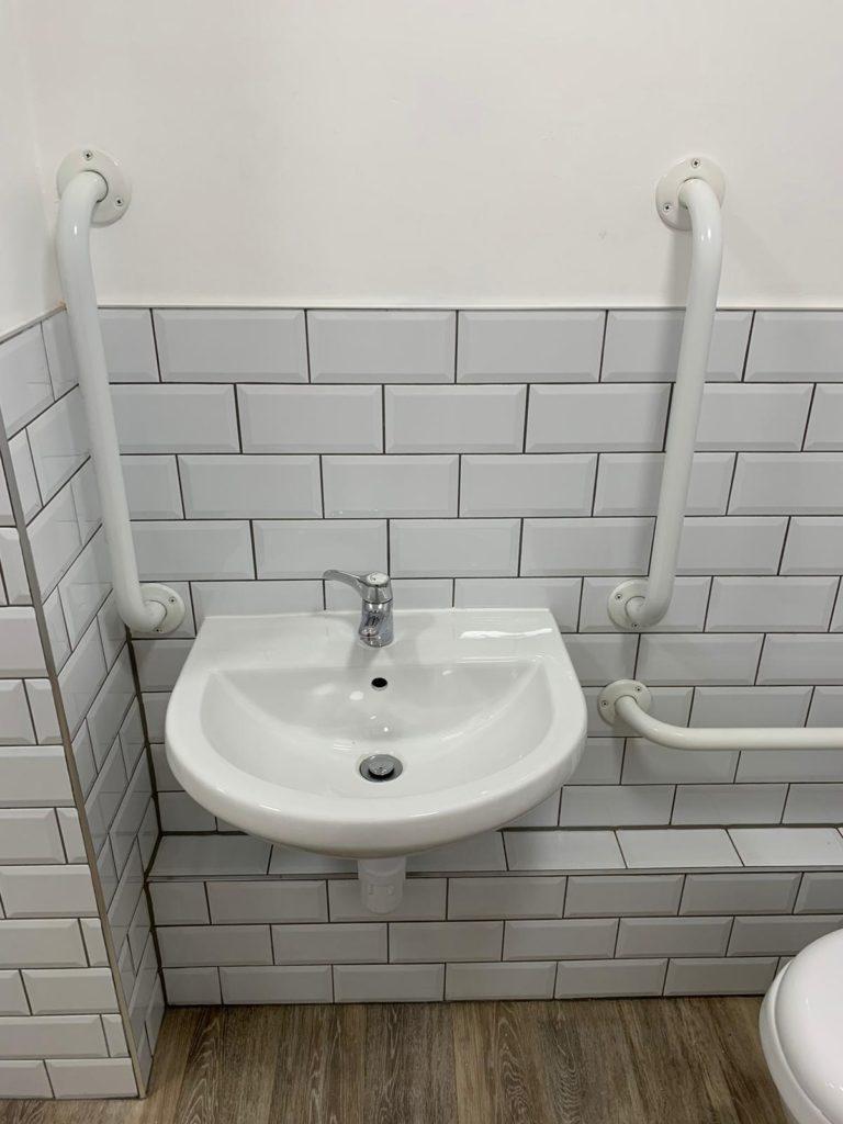 office bathroom sink