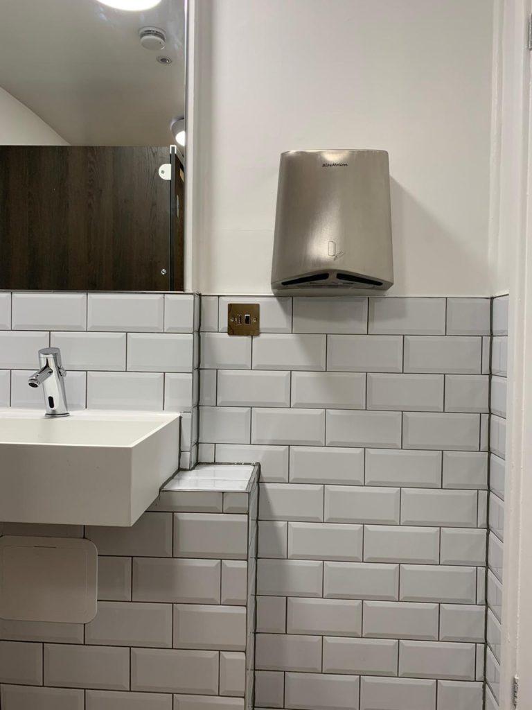 office bathroom hand dryer