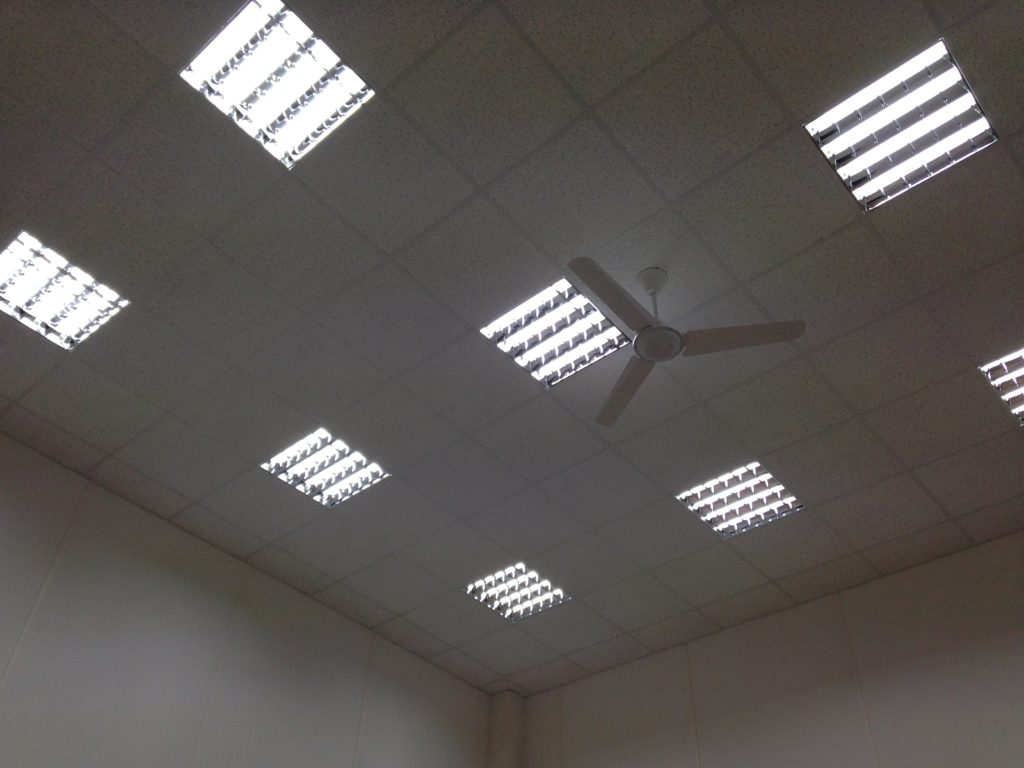 emerald IT project fan and ceiling lights
